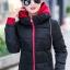 เสื้อกันหนาว พร้อมส่ง สีดำ ผ้าร่ม กันลมหนาวได้ดีเลยค่ะ อุ่นมากๆ แบบซิบรูด มีฮูทสุดเท่ห์ งานสวยเหมือนแบบแน่นอนค่ะ ฮูทสามารถถอดออกได้ค่ะ thumbnail 1