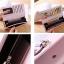 กระเป๋าสตางค์ผู้หญิง Ribbon Cute สีชมพู thumbnail 11