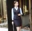 ชุดสูททำงาน และ กระโปรง กางเกง เสื้อกั๊ก : ชุดสูททำงาน เซ็ตคู่ เสื้อสูทสีดำ คอปก แขนยาว ติดกระดุม 2 แถว ทรงเรียบหรู เข้าชุดกับ กระโปรง กางเกง เสื้อกั๊ก thumbnail 3