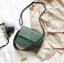 กระเป๋าสะพายข้างผู้หญิง Leather around สีน้ำตาล thumbnail 8