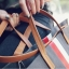 กระเป๋าสะพายข้างใบใหญ่ ฺBeclock สีดำ thumbnail 8