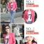 เสื้อแจ็คเก็ต เสื้อหนังแฟชั่น พร้อมส่ง สีชมพู คอจีนเก๋ ดีเทลด้วยปกโฉบเฉี่ยว thumbnail 5
