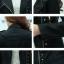 เสื้อแจ็คเก็ต เสื้อหนังแฟชั่น พร้อมส่ง สีดำ หนังด้าน คอจีน เข้ารูป แต่งปักมุดด้านซ้ายสุดเท่ห์ แต่งซิบรูดเก๋ thumbnail 5