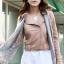 เสื้อแจ็คเก็ต เสื้อหนังแฟชั่น พร้อมส่ง สีชมพู หนังเงา แบบเท่ห์ๆ อินเทรนด์ สไตล์เกาหลี thumbnail 5