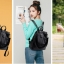 กระเป๋าสะพายข้างใบใหญ่ ฺ3in1 ฺBlack สีดำ thumbnail 12