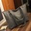 กระเป๋าสะพายข้างใบใหญ่ The liary สีเทา thumbnail 1