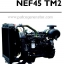 """เครื่องยนต์ดีเซล Diesel Engine """"IVECO"""" 4 สูบ Cylinder # NEF45TM2 ขนาด prime 87 kw. @ 1500 RPM. thumbnail 1"""