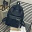 กระเป๋าเป้ LB001 เป้ใบใหญ่ ใส่หนังสือได้ White thumbnail 3