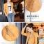 เสื้อแจ็คเก็ต เสื้อหนังแฟชั่น พร้อมส่ง สีเหลือง หนังด้าน มาดเซอร์ คอจีน ดีเทลด้วยปกโฉบเฉี่ยว สุดเท่ห์ หนัง PU คุณภาพดี thumbnail 6