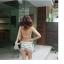 SW02001 ชุดทูพีชสีขาว กางเกงขาสั้น พร้อมเสื้อคลุม thumbnail 7