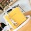 กระเป๋าสะพายข้างผู้หญิง Girl face สีเหลือง thumbnail 6