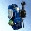 """เครื่องยนต์ดีเซล """"DELUX"""" #DH195 ขนาด 14 แรงม้า 2300 รอบต่อนาที (Diesel Engine 14 HP 2300RPM.) thumbnail 1"""