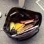 กระเป๋าสะพายข้างใบใหญ่ Leather woman (Red) thumbnail 11