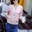 เสื้อคลุม พร้อมส่ง เสื้อคุลมแฟชั่น สีชมพูหวานๆ ลายกระรอกน่ารัก ผ้าคอนตอน ใส่สบาย thumbnail 4