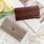 กระเป๋าสตางค์ผู้หญิง Leather 001 สีดำ thumbnail 18