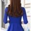เสื้อสูทแฟชั่น เสื้อสูทสำหรับผู้หญิง พร้อมส่ง สีฟ้า ผ้าคอตตอน 100 % เนื้อดี คุณภาพงานพรีเมี่ยม thumbnail 4