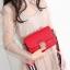 กระเป๋าสะพายข้าง mini function black red thumbnail 15