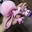 พวงกุญแจ ขนฟู รุ่น Baby doll สีชมพู 01 thumbnail 1
