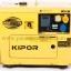 """เครื่องกำเนิดไฟฟ้า เครื่องยนต์ดีเซลขนาด 5 KVA KIPOR #KDE6700TAO มี ATS (DIESEL GENERATOR """"KIPOR"""" #KDE6700TAO 5 KVA. WITH ATS) thumbnail 1"""