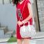 กระเป๋าสะพายข้างผู้หญิงสีขาวเนื้อแมท Fashion Lady thumbnail 1