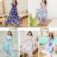 MAXI DRESS ชุดเดรสยาว พร้อมส่ง สีขาว ลายดอกกุหลาบหวาน น่ารักมากๆค่ะ เนื้อผ้าชีฟอง อย่างดี thumbnail 5