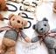 พวงกุญแจหมี น่ารัก lovely bear มีหลายสี thumbnail 14