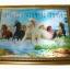 กรอบรูปภาพม้าแปดตัวบนสายน้ำ 3 มิติ thumbnail 1