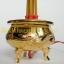 กระถางธูปไฟฟ้าสีทองลายมังกรหงส์ 5 ดอก thumbnail 2