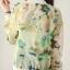 เสื้อคลุม พร้อมส่ง เสื้อคุลมแฟชั่น สีโทนเขียว ผ้าชีฟอง เนื้อบาง ใส่สบาย แต่งลายดอกไม้หวานๆ thumbnail 4