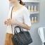 กระเป๋าสะพายข้างผู้หญิงสีขาวเนื้อแมท Fashion Lady thumbnail 3