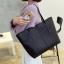 กระเป๋าสะพายข้างใบใหญ่ Leather woman (Red) thumbnail 4