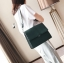 กระเป๋าสะพายข้างผู้หญิง Leather around สีน้ำตาล thumbnail 18