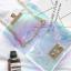 กระเป๋าสะพายข้างผู้หญิง Jelly Rainbow 01 หนังใสประกายรุ้ง thumbnail 10
