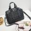 กระเป๋าสะพายข้างผู้หญิงสีขาวเนื้อแมท Fashion Lady thumbnail 5