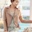 เสื้อแจ็คเก็ต เสื้อหนังแฟชั่น พร้อมส่ง สีชมพู หนังเงา แบบเท่ห์ๆ อินเทรนด์ สไตล์เกาหลี thumbnail 2