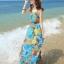 MAXI DRESS ชุดเดรสยาว พร้อมส่ง สีโทนฟ้า ผ้าชีฟอง เนื้อนิ่ม ใส่สบาย พิมพ์ลายดอกไม้สวยมากๆค่ะ มีซับใน รับรองสินค้าจริงเหมือนแบบ 100 % thumbnail 1