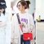 กระเป๋าสะพายข้าง mini function black red thumbnail 1