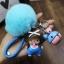 พวงกุญแจ ขนฟู รุ่น Baby doll สีฟ้า 02 thumbnail 1