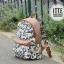กระเป๋า เป้สะพายหลัง สีหวาน thumbnail 7