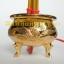กระถางธูปไฟฟ้าสีทองลายมังกรหงส์ 5 ดอก thumbnail 3