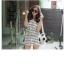 SW02001 ชุดทูพีชสีขาว กางเกงขาสั้น พร้อมเสื้อคลุม thumbnail 14