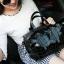 กระเป๋าสะพายข้างผู้หญิงสีขาวเนื้อแมท Fashion Lady thumbnail 13