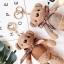 พวงกุญแจหมี น่ารัก lovely bear มีหลายสี thumbnail 4