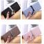 กระเป๋าสตางค์ผู้หญิง Ribbon Cute สีชมพู thumbnail 5