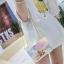 กระเป๋าสะพายข้างผู้หญิง Jelly Rainbow 01 หนังใสประกายรุ้ง thumbnail 3