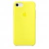 เคสซิลิโคน iPhone 7 / 8 สีเหลืองนีออน ( Original )
