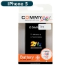 Battery IPhone 5 (COMMY) รับรอง มอก.ไม่แถมเครื่องมือ