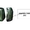 ครอบกระจก ISUZU D-MAX 2012