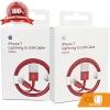 สายชาร์จ iPhone ของแท้ Foxconn Red Edition ชุด 2 เส้น ส่ง EMS ฟรี