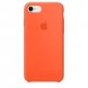 เคสซิลิโคน iPhone 7 / 8 สีส้มสไปซี่( Original )